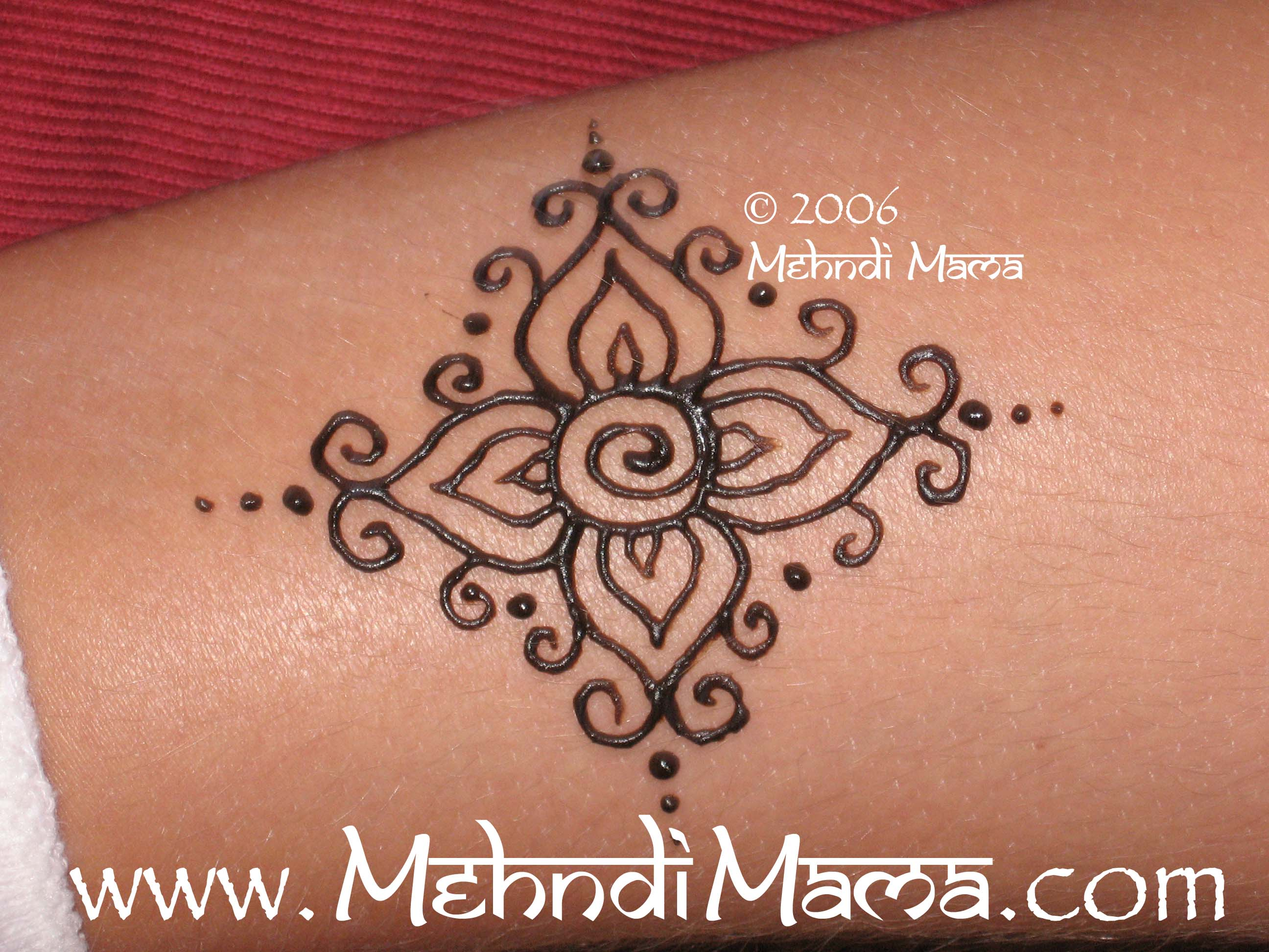 Quick Mehndi Patterns : The gallery for gt easy henna designs beginners ankle